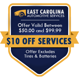 $10.00 Off Services Offer Valid Between $50.00 and $99.99 (Offer Excludes Tires and Batteries)