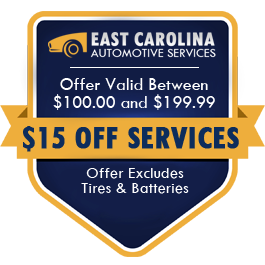 $15.00 Off Services Offer Valid Between $100.00 and $199.99 (Offer Excludes Tires and Batteries)